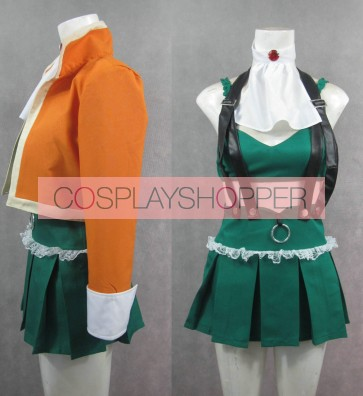 Vocaloid 3 Gumi Megpoid Cosplay Costume