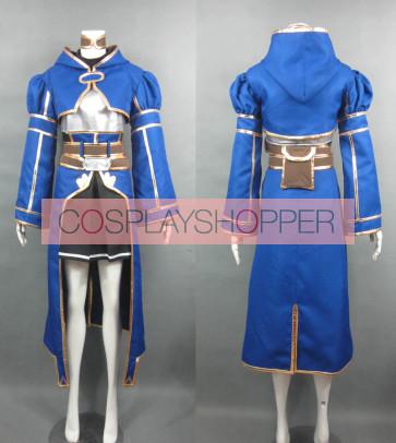 Sword Art Online (SAO) Silica Blue Cosplay Costume