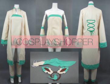 Pokemon Leafeon Human Cosplay Costume