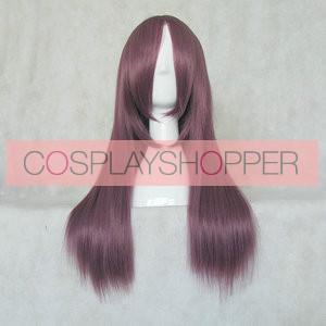 Purple 60cm Angel Beats! Nakamura Yuri Cosplay Wig
