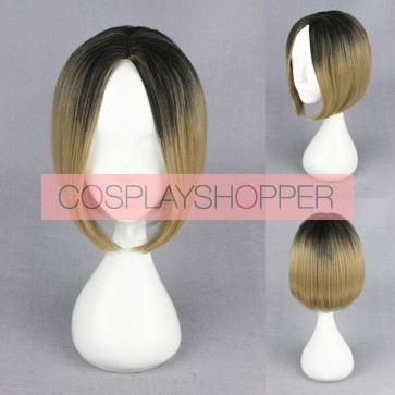 Haikyuu!!! Kenma Kozume Cosplay Wig - Black Fading into Blonde