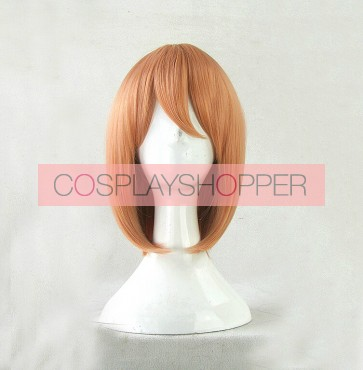 Orange 35cm The Devil Is a Part-Timer! Chiho Sasaki Cosplay Wig