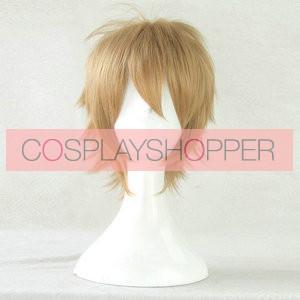 Blond 35cm Danganronpa: Trigger Happy Havoc Byakuya Togami Cosplay Wig