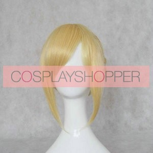 Gold 30cm Fate/stay night Saber Cosplay Wig