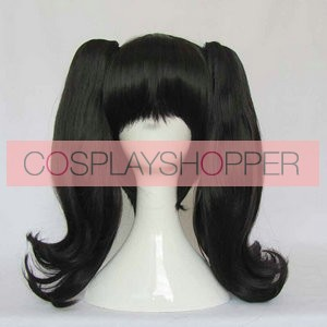 Black 40cm Fate/stay night Rin Tosaka Cosplay Wig