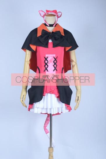 Love Live! School Idol Project Season 2 Niko Yazawa Pink & Black Cosplay  Costume