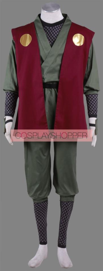 Naruto Ninja Jiraiya Cosplay Costume