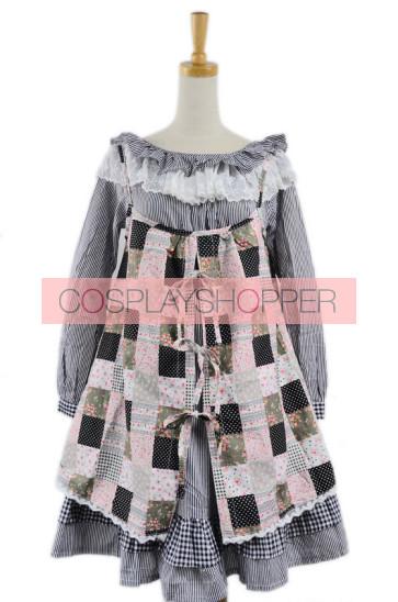 Long Sleeves Cute Cotton Lolita Dress