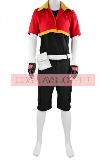 Pokemon Ranger Jackie Cosplay Costume