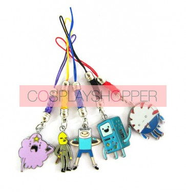 Adventure Time Cosplay Phone Strap A