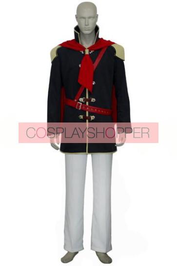 Final Fantasy XIII 13 Agito Boy Uniform Cosplay Costume