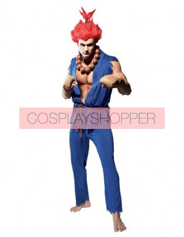 Street Fighter Akuma Cosplay Costume