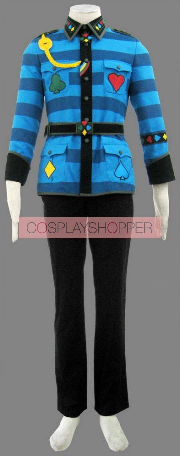 Alice in the Country of Hearts Tweedle Dee Cosplay Costume