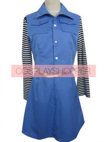 Dragon Ball Z Android 18 Cosplay Costume