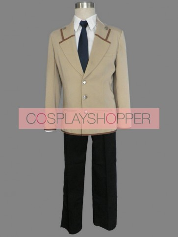 Angel Beats! Yuzuru Otonashi Boys Uniform Cosplay Costume