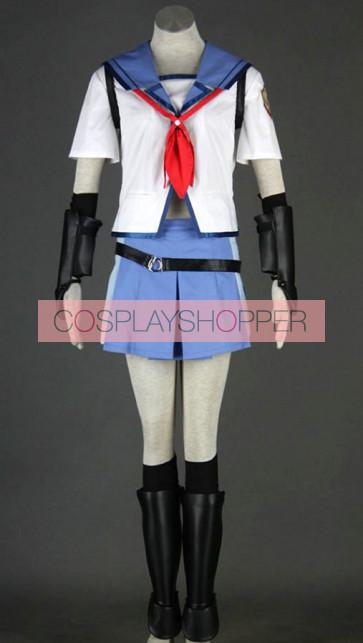 Angel Beats! Shiina Uniform Cosplay Costume