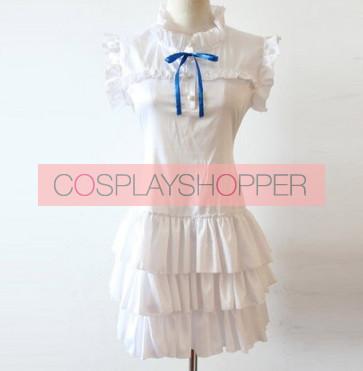 Anohana Meiko Menma Honma Cosplay Costume