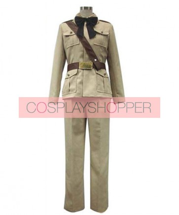 Axis Powers Hetalia Antonio Fernandez Carriedo Cosplay Costume