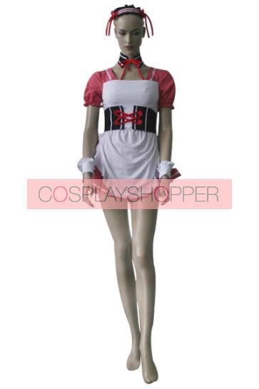 Haruhi Suzumiya Asahina Mikuru Pink Lolita Dress