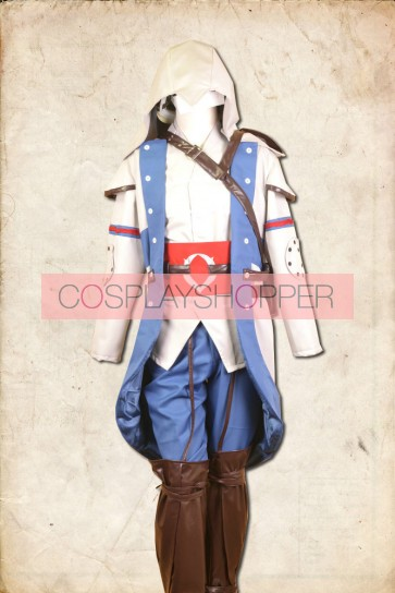 Assassin's Creed III Connor Kenway Cosplay Costume - Standard Edition