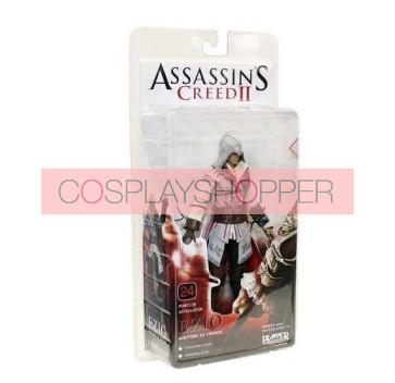 Assassin's Creed II Ezio White Edition Mini PVC Action Figure