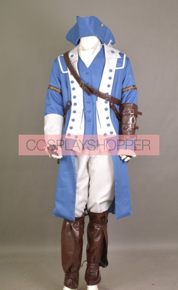Assassin's Creed III Captain Of The Aquila Cosplay Costume
