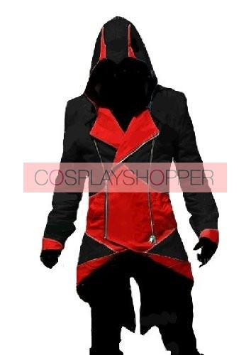 Black Assassin's Creed III Conner Kenway Casual Cosplay Jacket