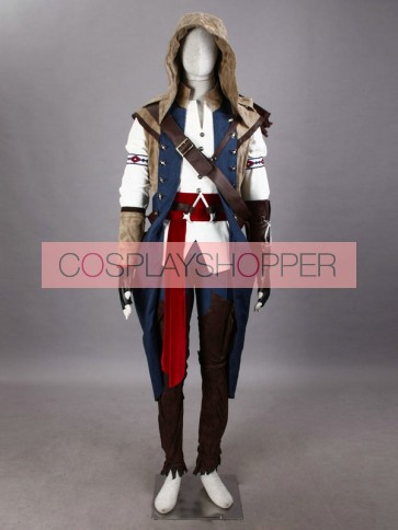 Assassin's Creed III Connor Kenway Cosplay Costume - Deluxe