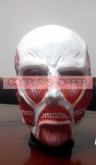 Attack On Titan Colossus Titan Latex Cosplay Mask