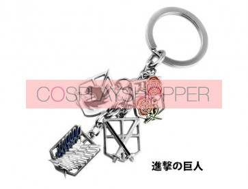 Attack On Titan Cosplay Keychain