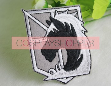 Attack On Titan Military Police Cosplay Badge