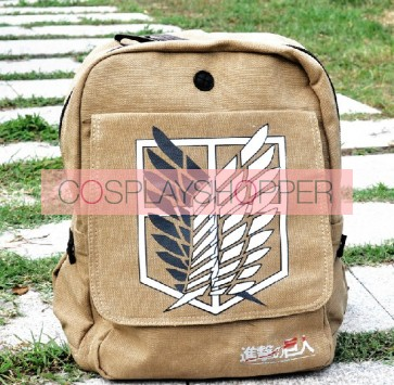 Attack On Titan Recon Corps Cosplay Backpack