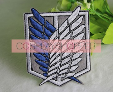 Attack On Titan Recon Corps Cosplay Badge