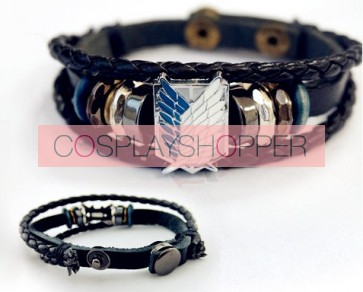 Attack On Titan Recon Corps Cosplay Bracelet