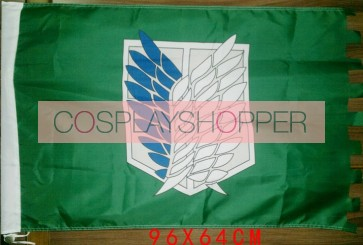 Attack On Titan Recon Corps Cosplay Flag