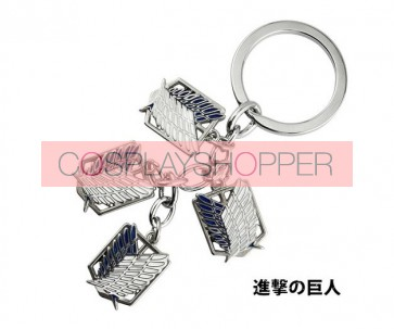 Attack On Titan Recon Corps Cosplay Keychain