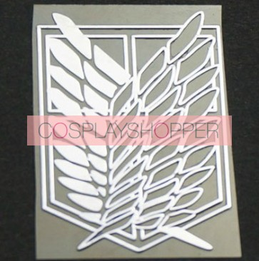 Attack On Titan Recon Corps Cosplay Sticker