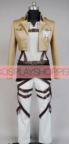 Attack On Titan Eren Jaeger Cosplay Costume