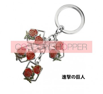 Attack On Titan Stationed Corps Cosplay Keychain