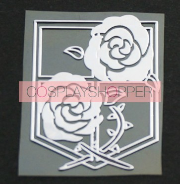 Attack On Titan Stationed Corps Cosplay Sticker