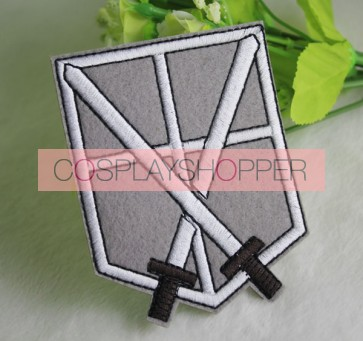 Attack On Titan Training Corps Cosplay Badge