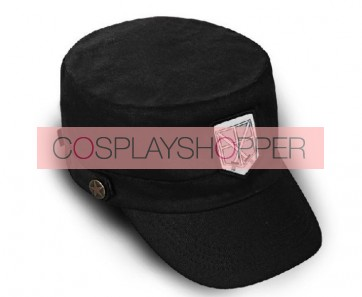 Attack On Titan Training Corps Cosplay Hat