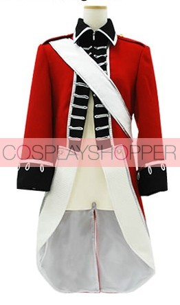 Axis Powers Hetalia Arthur Kirkland Cosplay Costume