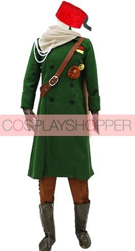 Axis Powers Hetalia Turkish Military Uniform Cosplay Costume