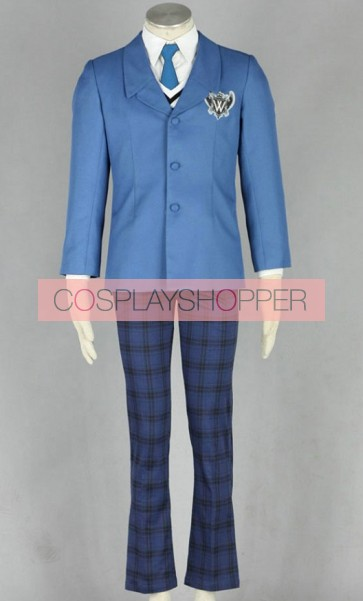 Axis Powers Hetalia World Boys School Uniform Cosplay Costume