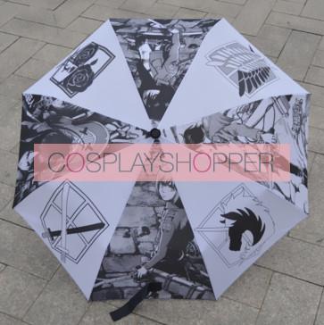 Beautiful Attack On Titan Cosplay Folding Umbrella