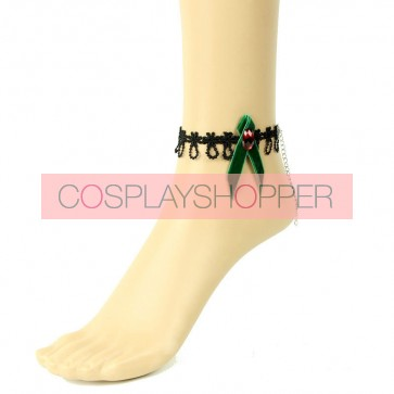 Beautiful Bow Girls Lolita Ankle Belt