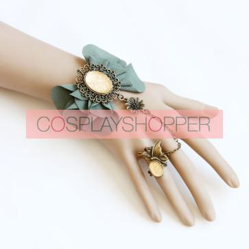 Beautiful Handmade Lolita Bracelet And Ring Set