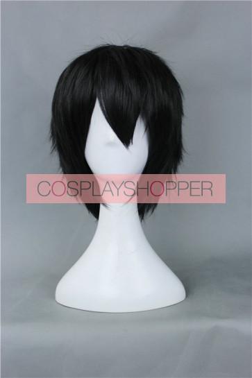 Black 30cm Free! Haruka Nanase Cosplay Wig