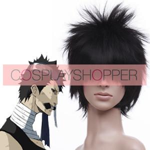 Black 30cm Naruto Momochi Zabuza Cosplay Wig